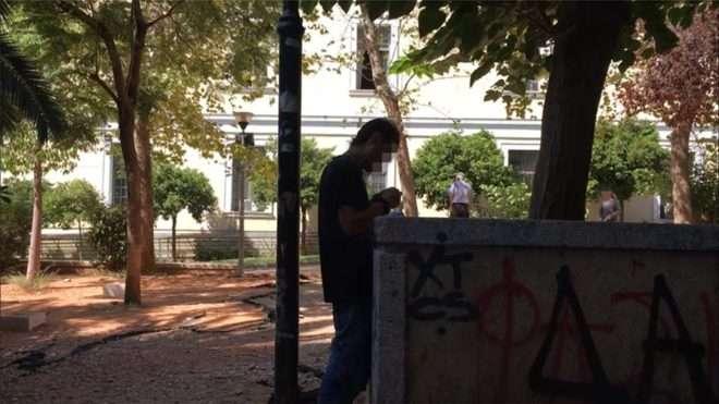 Eικόνες σοκ! Χρήση ναρκωτικών στη Νομική Σχολή της Αθήνας - ΒΙΝΤΕΟ