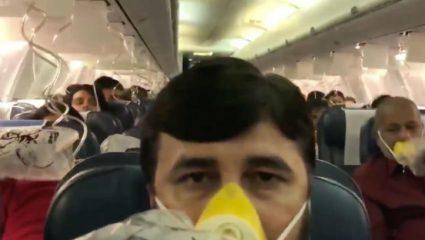 Eικόνες από το αεροπλάνο του τρόμου! Έτρεχε αίμα από τις μύτες και τα αυτιά επιβατών – ΒΙΝΤΕΟ