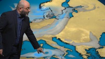 Έρχεται μεσογειακός κυκλώνας – Πότε και που θα χτυπήσει (ΒΙΝΤΕΟ)