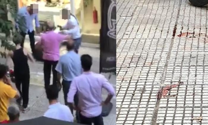Βίντεο-σοκ από την απόπειρα ληστείας στο κέντρο της Αθήνας