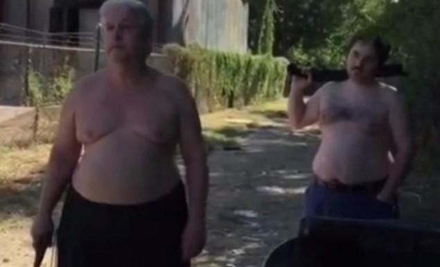 Σοκαριστικό βίντεο: Πυροβόλησε και σκότωσε το γείτονά του μετά από καβγά!