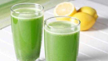 Εκπληκτικό: Τι θα συμβεί αν πιείτε για πέντε μέρες λεμόνι με μαϊντανό