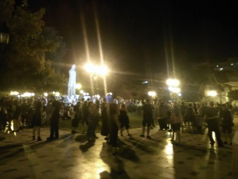Θεσσαλονίκη: Συγκέντρωση στη μνήμη του Ζακ Κωστόπουλου (ΦΩΤΟ)