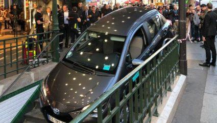 Απίστευτο: Οδηγός στο Παρίσι μπέρδεψε την είσοδο του μετρό με πάρκινγκ! – ΦΩΤΟ, ΒΙΝΤΕΟ