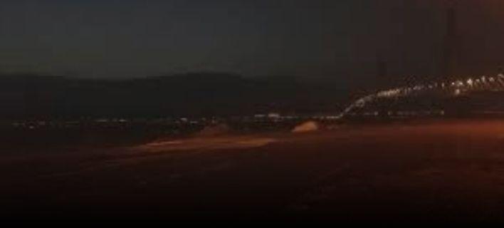 Θύελλα στο Ρίο-Αντίρριο: Έκλεισε η πορθμειακή γραμμή (ΒΙΝΤΕΟ)