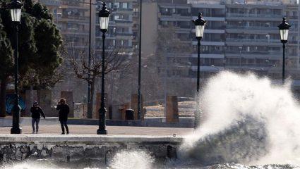Έρχεται κυκλώνας με 12 μποφόρ και τροπικές καταιγίδες