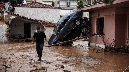 Kαλείται ως ύποπτη για τις πλημμύρες στη Μάνδρα η Δούρου