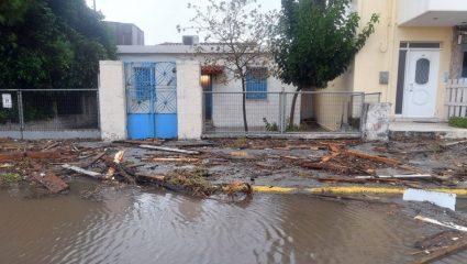 Απίστευτο: Στο Άργος έπεσαν 138 λίτρα νερού ανά τετραγωνικό!