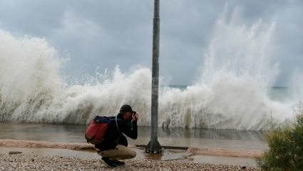 Η πορεία του κυκλώνα στην Ελλάδα