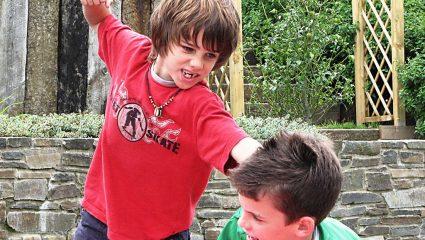 Ο γιος μου χτυπάει και σπρώχνει τα παιδιά της ηλικίας του! Τι να κάνω;