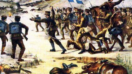 Σαν σήμερα: Η είσοδος της Ελλάδας στον Α' Βαλκανικό Πόλεμο
