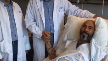 Η πρώτη ανάρτηση του Βαλάντη μετά την αφαίρεση του όγκου (ΒΙΝΤΕΟ)