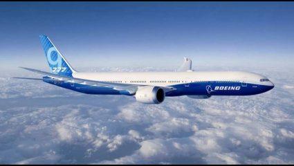 Νέα τεχνολογία: Θα διπλώνουν τα φτερά του νέου Boeing 777-9X! (BINTEO)