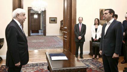 Ορκίστηκε υπουργός Εξωτερικών ο Αλέξης Τσίπρας – BINTEO