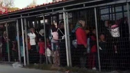 Αστυνομικός βρίζει χυδαία ηλικιωμένη στη Μόρια – Το βίντεο της ντροπής