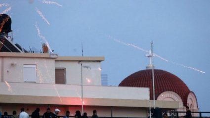 Ηράκλειο: Επεισόδια μεταξύ οπαδών του Ολυμπιακού και Αστυνομίας
