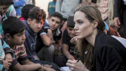 Στο Περού για τους πρόσφυγες η Αντζελίνα Τζολί
