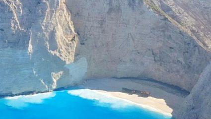 Εντυπωσιακές εικόνες: άλλαξε χρώμα η θάλασσα στο Ναυάγιο μετά το σεισμό της Ζακύνθου! (ΒΙΝΤΕΟ)