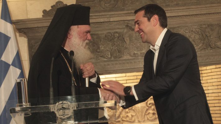 Η μυστική συνάντηση Τσίπρα, Ιερώνυμου που έφερε το προσύμφωνο