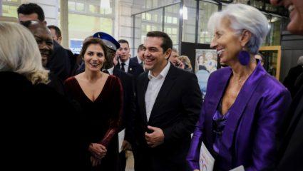 Στην Εθνική Λυρική Σκηνή ο Αλέξης Τσίπρας με τη σύζυγό του