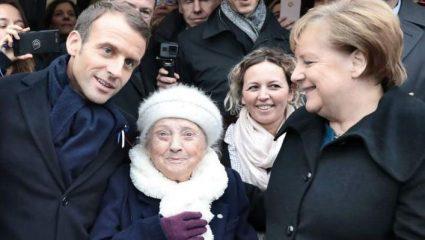 Γυναίκα 101 ετών δεν ήξερε τη Μέρκελ – Τη ρώτησε αν είναι η σύζυγος του Μακρόν (ΒΙΝΤΕΟ)
