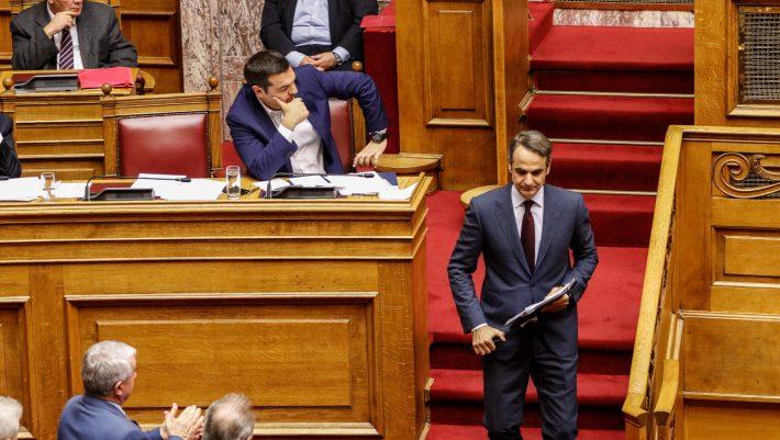 Κόντρα Τσίπρα - Μητσοτάκη στη Βουλή για τον... πρώην πρόεδρο του Εδεσσαϊκού (ΒΙΝΤΕΟ)