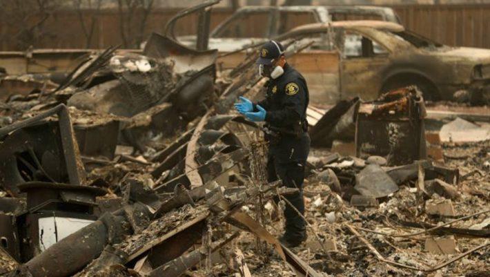 Tραγωδία δίχως τέλος στην Καλιφόρνια: Στους 631 οι αγνοούμενοι από τις πυρκαγιές