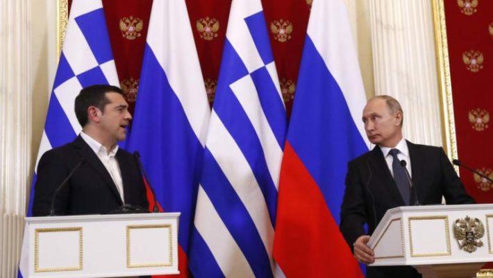 Πούτιν για τις απελάσεις Ρώσων διπλωματών: Σαχλαμάρες τα περί συνωμοσίας εις βάρος της Ελλάδας