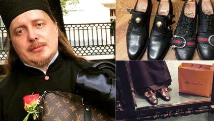 Ρώσος Ιερέας έχει μεγάλη αδυναμία σε Gucci και Louis Vuitton (ΦΩΤΟ)
