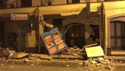 Σεισμός 4,8 Ρίχτερ στην Κατάνια της Ιταλίας – ΒΙΝΤΕΟ