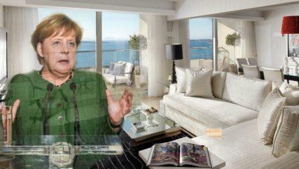 Σε αυτή τη σουίτα των 5000 ευρώ τη βραδιά έμεινε η Μέρκελ! – ΦΩΤΟ