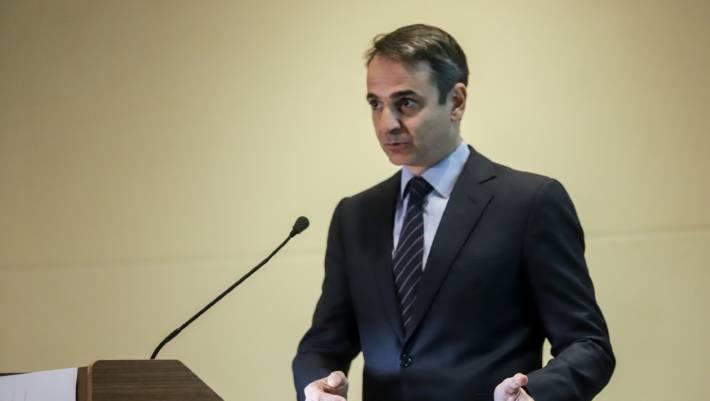 Έκτακτη σύσκεψη Μητσοτάκη με τους συνεργάτες του στη Βουλή