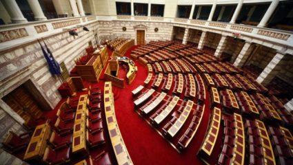 «Κοράκιασαν» στη Βουλή
