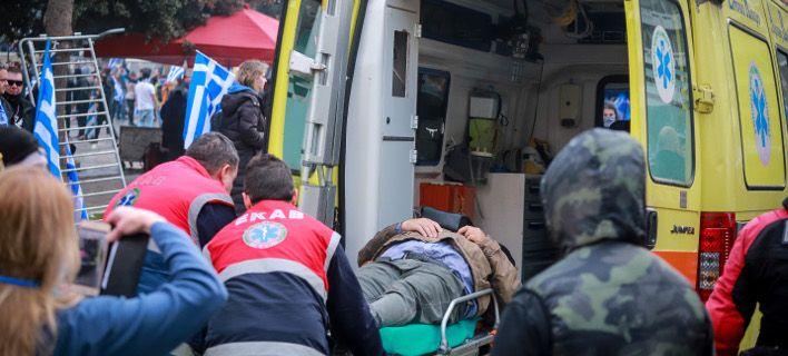 Τουλάχιστον 46 τραυματίες από τα επεισόδια στο συλλαλητήριο