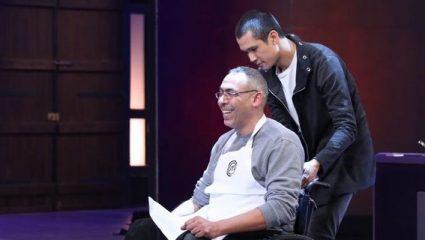 MasterChef 3: Συγκλόνισε ο Αριστοτέλης στο αναπηρικό αμαξίδιο (BINTEO)
