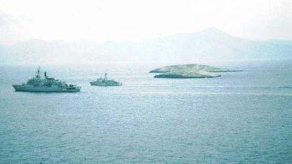Ίμια 1996: Τα πλάνα από την κανονιοφόρο «Πυρπολητής» που δεν είδαμε ποτέ – Βίντεο ντοκουμέντο
