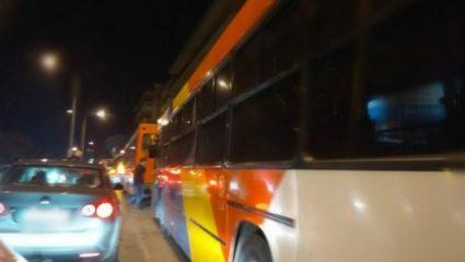 Τέσσερα λεωφορεία του ΟΑΣΘ ακινητοποιήθηκαν στο ίδιο σημείο λόγω βλάβης!