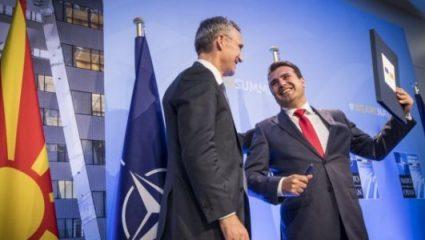 Έπεσαν οι υπογραφές στο πρωτόκολλο προσχώρησης των Σκοπίων στο ΝΑΤΟ!