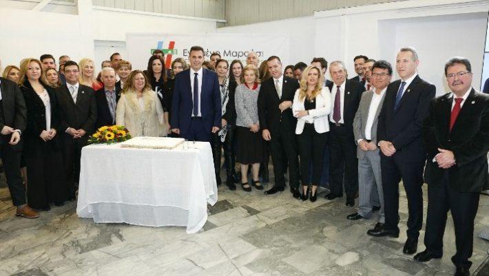 Με μήνυμα αλλαγής στο Μαρούσι ο Γ. Καραμέρος ανακοίνωσε 41 υποψηφιότητες