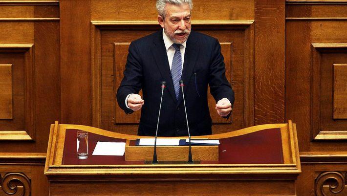 «Βόμβα» Κοντονή στη Βουλή: Η παρούσα Βουλή δεν δεσμεύει την επόμενη!