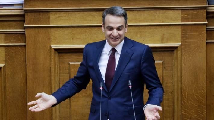 «Καρφί» Μητσοτάκη στη Βουλή: Πλειοψηφία ΣΥΡΙΖΑ με βουλευτές «τριγύριζα»