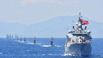 Έρχεται η «Γαλάζια Πατρίδα» στο Αιγαίο: «Πρόβα πολέμου» από τον Ερντογάν