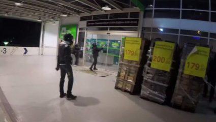 Βίντεο-ντοκουμέντο: Η στιγμή της επίθεσης του Ρουβίκωνα