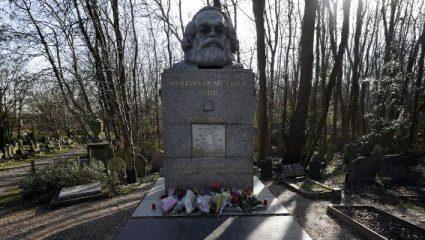 Βεβήλωσαν ξανά τον τάφο του Μαρξ -Δεύτερη φορά σε δύο εβδομάδες