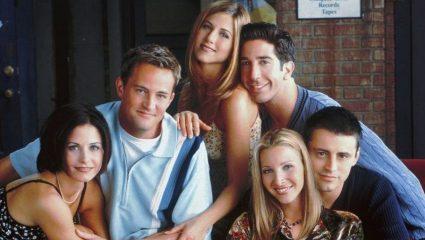 Η «απαγορευμένη» σκηνή στην τηλεοπτική σειρά Φιλαράκια