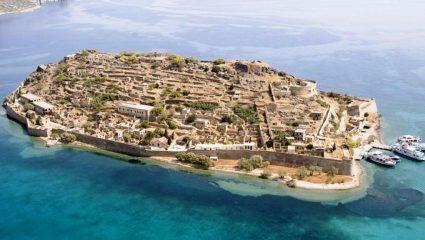 Μοναδική βόλτα με drone στη Σπιναλόγκα, το νησί των λεπρών