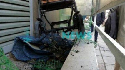 Εμπρηστική επίθεση σε διαμέρισμα όπου διαμένουν πρόσφυγες στη Νεάπολη Θεσσαλονίκης