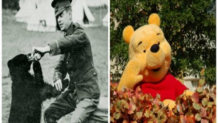 Ο Γουίνι το αρκουδάκι σώθηκε από ένα στρατιώτη στον Α' Παγκόσμιο Πόλεμο