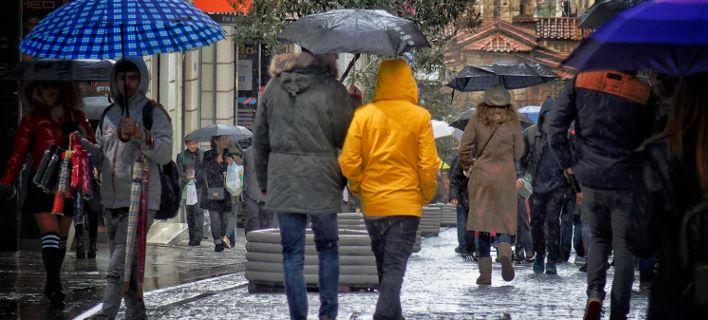 Βροχερός ο καιρός την Τετάρτη