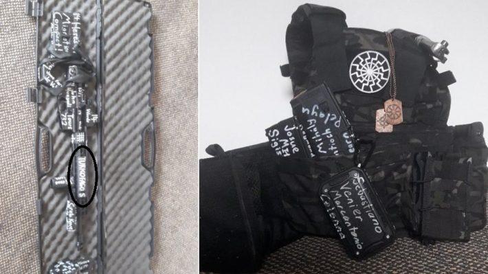 Πάνω στα όπλα του μακελάρη της Νέας Ζηλανδίας έγραφε «TURKOFAGOS»! ΦΩΤΟ